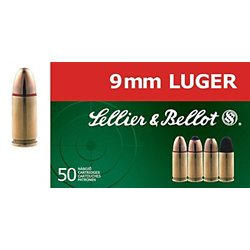 9mm Luger 140-Grain Full Metal Jacket Centerfire Handgun Ammunition