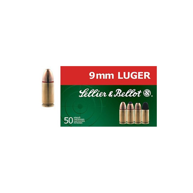 Sellier & Bellot 9mm Luger 140-Grain Full Metal Jacket Centerfire Handgun Ammunition - Pistol Shells at Academy Sports thumbnail