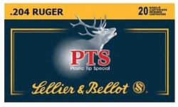 .204 Ruger 32-Grain PTS Centerfire Rifle Ammunition