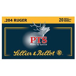 .204 Ruger 32-Grain PTS Centerfire Rifle Ammunition
