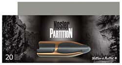Nosler Partition Centerfire Rifle Ammunition