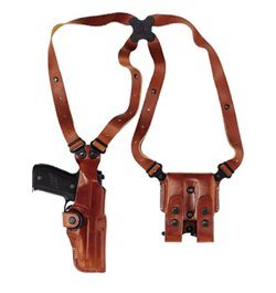 Galco Vertical Shoulder SP 101/Colt Detective Special Shoulder Holster System