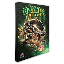 Photo File Baylor University Helmet Stretched Canvas Photo