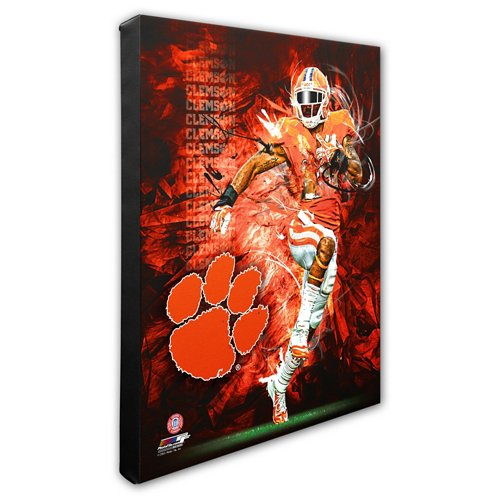 Photo File Clemson University Player Stretched Canvas Photo