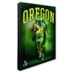 Photo File University of Oregon Player Stretched Canvas Photo
