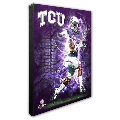 Photo File Texas Christian University Player Stretched Canvas Photo