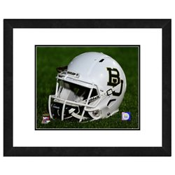 "Baylor University Helmet 11"" x 14"" Double Matted and Framed Photo"
