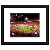 "Photo File Clemson University Stadium 11"" x 14"" Double Matted and Framed Photo"