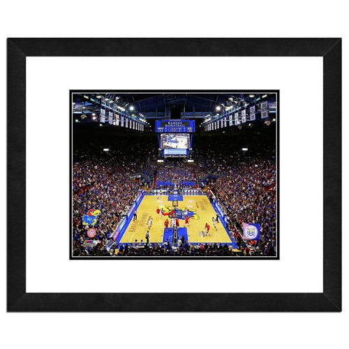 Photo File University of Kansas Allen Fieldhouse 16' x 20' Matted and Framed Photo