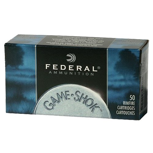 Federal Premium Game-Shok .22 WMR JHP Rimfire Ammunition