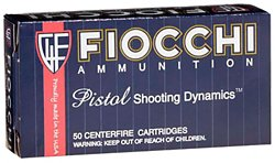 Pistol Shooting Dynamics Jacketed Hollow Point Centerfire Handgun Ammunition