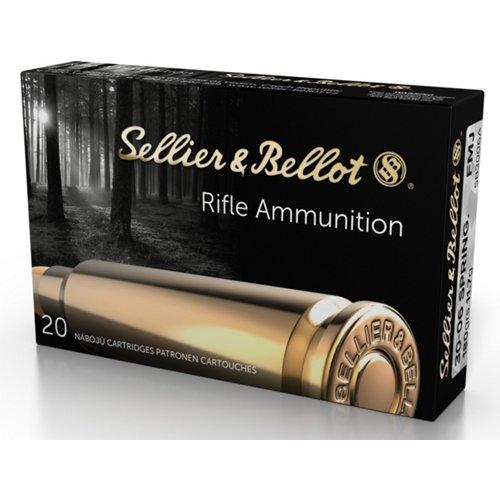 Sellier & Bellot 180-Grain Full Metal Jacket Centerfire Rifle Ammunition