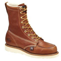 "Men's American Heritage 8"" Moc Toe Safety Toe Wedge Work Boots"