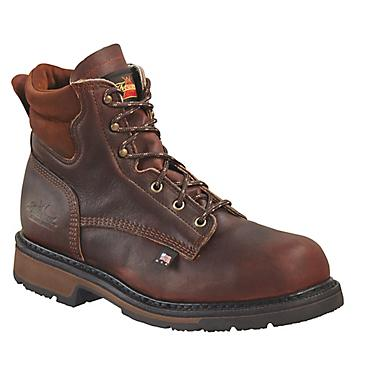 4199d30b756 Thorogood Shoes Men's American Heritage Job Pro 6 in EH Steel Toe Lace Up  Work Boots