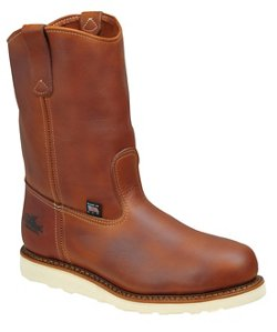 Men's American Heritage Safety Toe Wedge Wellington Work Boots