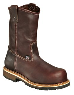 Men's American Heritage Emperor Composite Safety Toe Wellington Work Boots