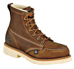 "Men's American Heritage Job Pro 6"" Moc Toe Safety Toe Work Boots"