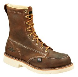 "Men's American Heritage Job Pro 8"" Moc Toe Safety Toe Work Boots"