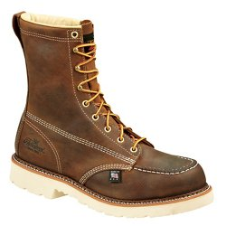 Men's American Heritage Job Pro 8 in EH Steel Toe Lace Up Work Boots