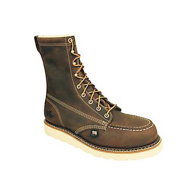 c6e306c599d Thorogood Shoes Men's 8 in EH Steel Toe Wedge Lace Up Work Boots