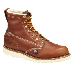 Men's American Heritage 6 in Wedge Lace Up Work Boots