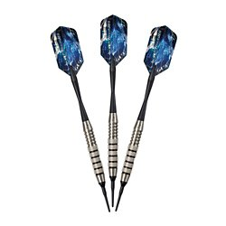 Silver Thunder 18-Gram Soft-Tip Darts 3-Pack