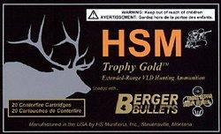 HSM Berger Bullets Trophy Gold .300 AAC Blackout/Whisper 220-Grain Centerfire Rifle Ammunition