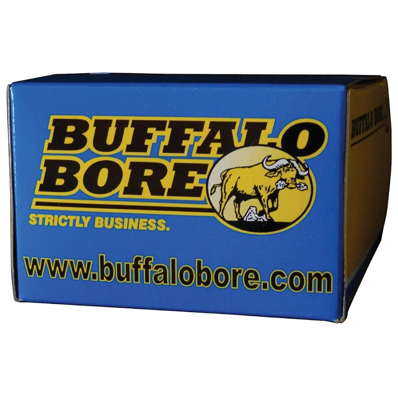Buffalo Bore JHP 9mm Centerfire Pistol Ammunition, 124 - Pistol Shells at Academy Sports thumbnail