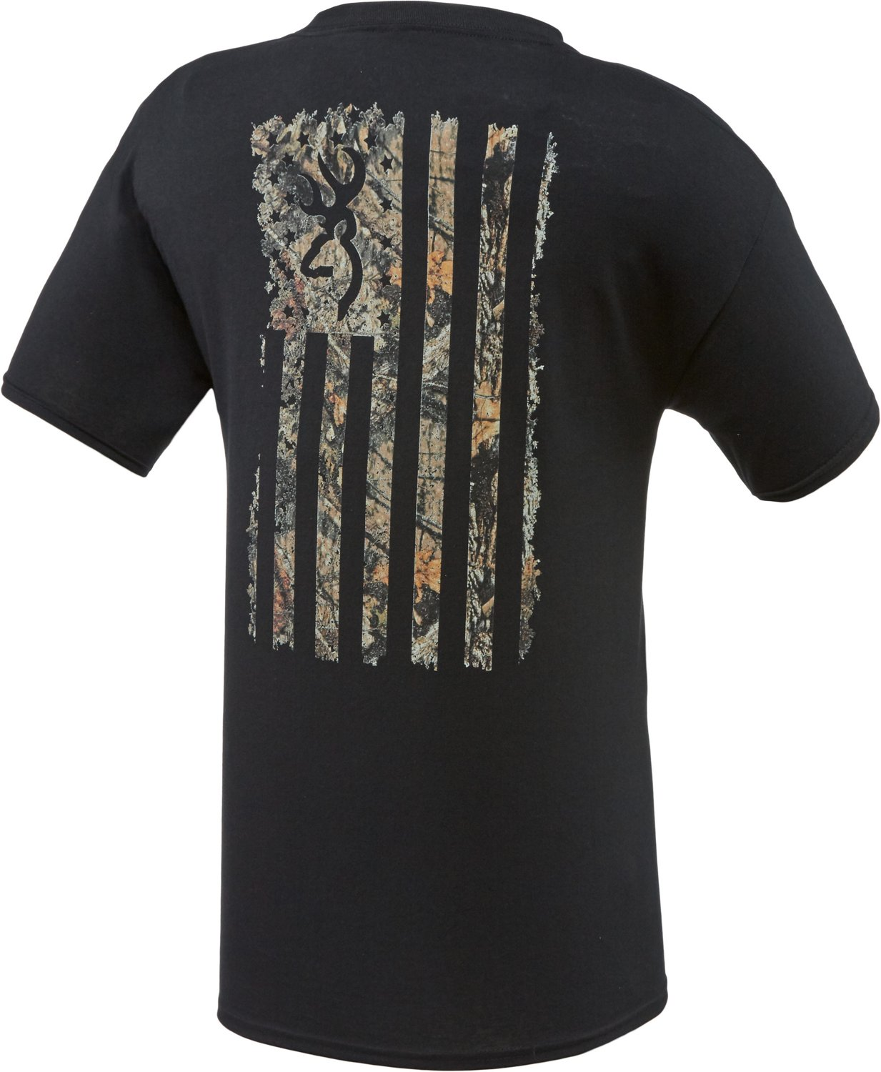 Display product reviews for Browning Men's Camo Country Flag T-shirt
