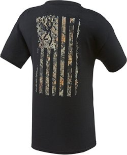 Browning Men's Camo Country Flag T-shirt