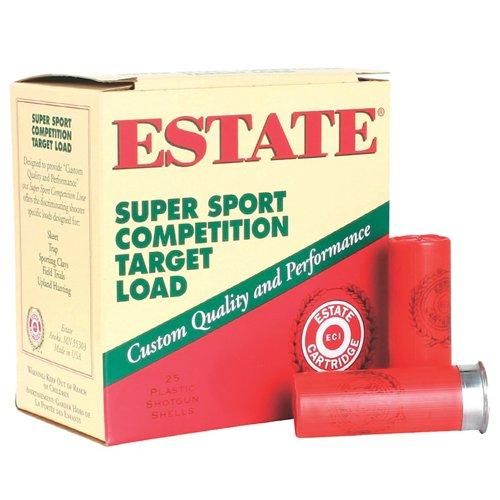 Estate Cartridge Super Sport Competition Target 12 Gauge Shotshells