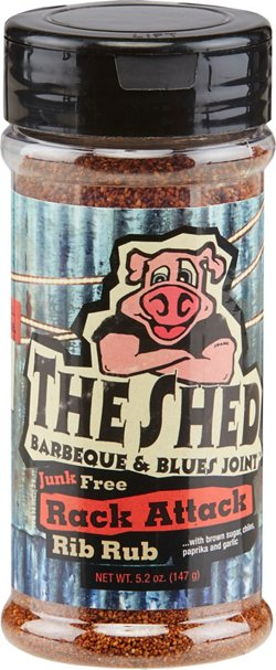 The Shed Rack Attack 5.2 oz. Rib Rub