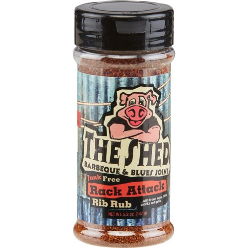 The Shed Rack Attack 5.2 oz. Rib Rub