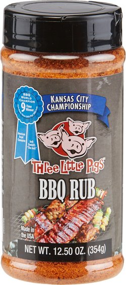 BBQ Spot Three Little Pigs 12.5 oz. Championship Rub