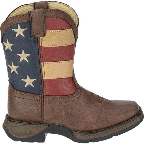 Durango Kids' Lil' Durango Patriotic Western Boots