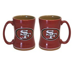 Boelter Brands San Francisco 49ers 14 oz. Relief Mugs 2-Pack