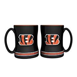 Boelter Brands Cincinnati Bengals 14 oz. Relief Mugs 2-Pack