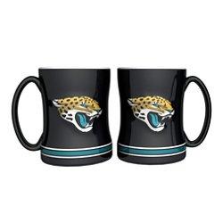 Boelter Brands Jacksonville Jaguars 14 oz. Relief Mugs 2-Pack