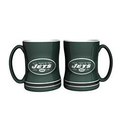 Boelter Brands New York Jets 14 oz. Relief Mugs 2-Pack