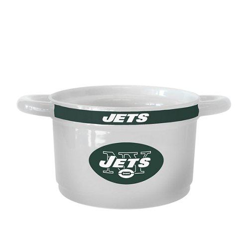Boelter Brands New York Jets Gametime 23 oz. Ceramic Bowl