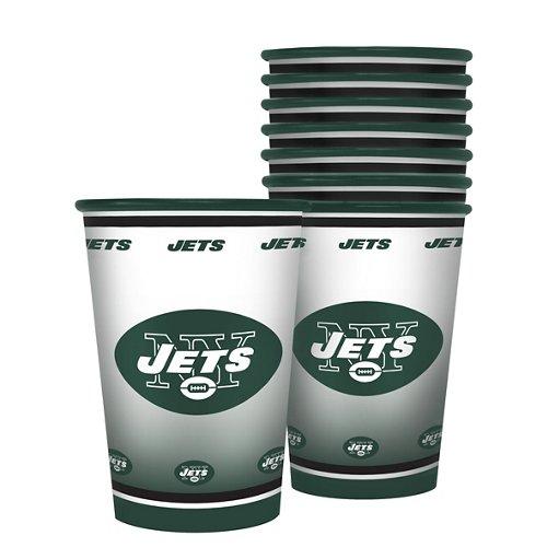 Boelter Brands New York Jets 20 oz. Souvenir Cups 8-Pack