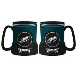 Boelter Brands Philadelphia Eagles Gametime 18 oz. Mugs 2-Pack