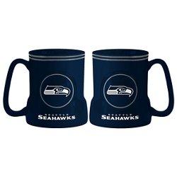 Boelter Brands Seattle Seahawks Gametime 18 oz. Mugs 2-Pack