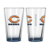 Boelter Brands Chicago Bears Elite 16 oz. Pint Glasses 2-Pack