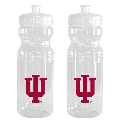 Boelter Brands Indiana University 24 oz. Squeeze Water Bottles 2-Pack