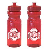 Boelter Brands Ohio State University 24 oz. Squeeze Water Bottles 2-Pack