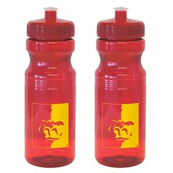 Boelter Brands Pittsburgh State University 24 oz. Squeeze Water Bottles 2-Pack