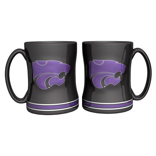 Boelter Brands Kansas State University 14 oz. Relief Mugs 2-Pack