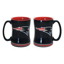 Boelter Brands New England Patriots 14 oz. Relief Mugs 2-Pack