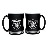 Boelter Brands Oakland Raiders 14 oz. Relief Mugs 2-Pack